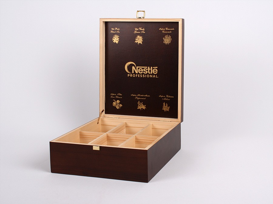 Tea Wood Box